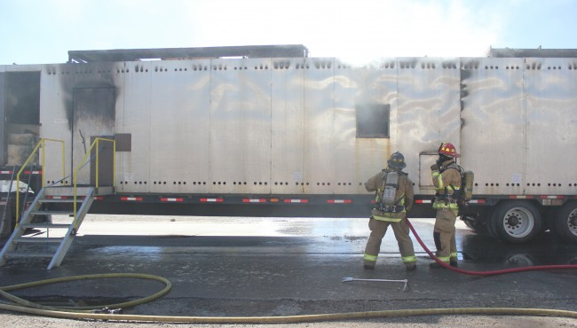 MSU Fire Service Training School Burn Trailer
