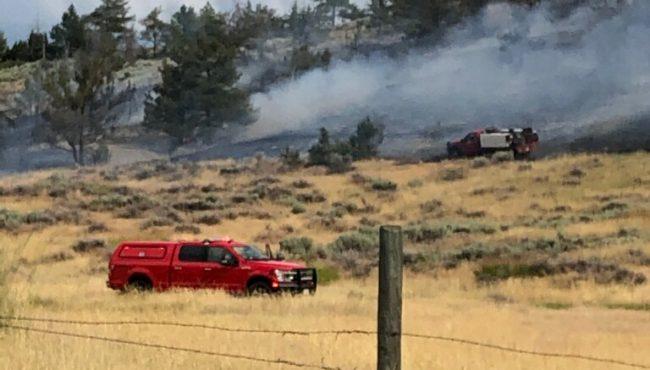 8 Mile Old Boulder Rd. Fire